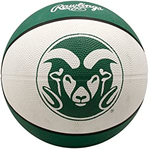 Buy NCAA Colorado State Rams Crossover Full Size Basketball by Rawlings by Rawlings