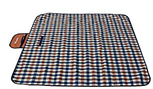 MIU COLOR® Durable 3-Layer Outdoor Beach Camping Picnic Mat Blanket With Handles