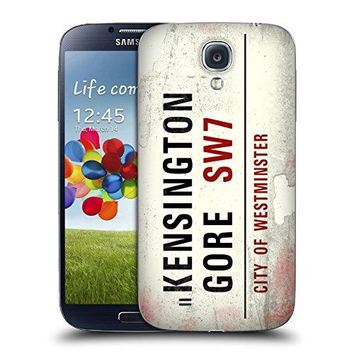 Ufficiale City Of Westminster Kensington Gore Segnali Stradali Vintage 2 Cover Sostitutiva Batteria per Samsung Galaxy S4 I9500
