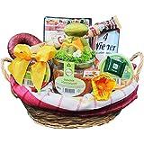 """Geschenk Korb """"Der Rustikale"""" Präsentkorb (6020), Geschenkkörbe gefüllt mit rustikalen Wurst-Delikatessen - Deftige Geschenke von Wurst-König®"""