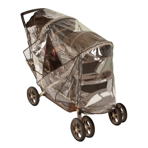Jeep Deluxe Tandem Stroller Weather Shield, Stroller Cover, Child Weather and Insect Protector, Double Stroller Cover