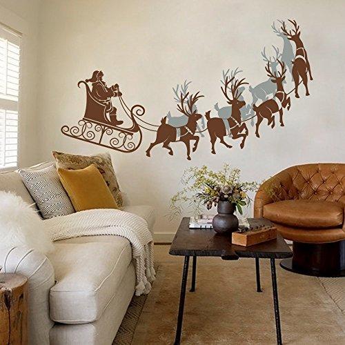 christmas-reindeer-vinile-personalizzata-adesivi-in-babbo-natale-sleigh-adesivo-da-parete-for-natale