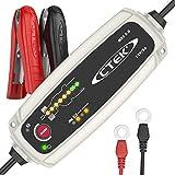 CTEK MXS 5.0 Vollautomatisches Ladegerät (Optimale Ladung, Unterhaltungsladung und Instandsetzung von Auto- und Motorradbatterien) 12V, 5 Amp. ? EU Stecker