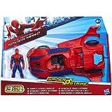 The Amazing Spider-Man 2 - Spider Strike - Triple Strike Cruiser - Véhicule 3 en 1 et Figurine