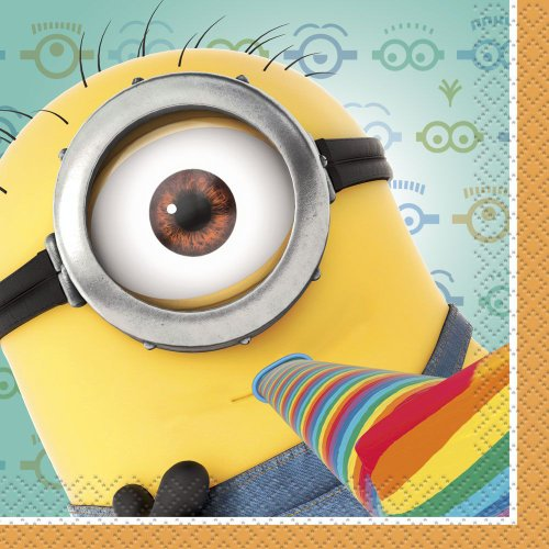 Despicable Me 2 Beverage Napkins, 16-Piece