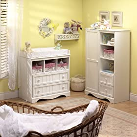 South Shore Furniture, Door Chest, Pure White