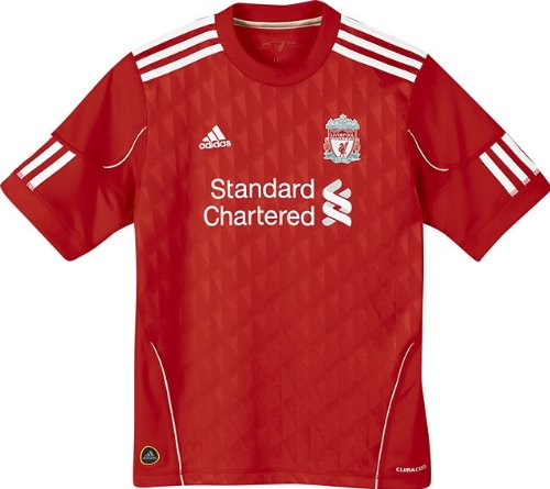 LIVERPOOL 2010/2011 Junior Home Shirt, Red, 8 Years