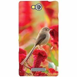 Sony Xperia C Back Cover - Small Bird Designer Cases
