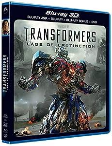 Transformers : l'âge de l'extinction [Combo Blu-ray 3D + Blu-ray + DVD]