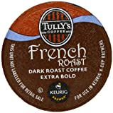Tullys French Roast K-Cup packs for Keurig Brewers, 50 count