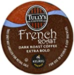 Tully's French Roast K-Cup packs for...