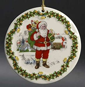 Spode Christmas Tree Ornament Santa Around The World 7Th and FINAL EDITION