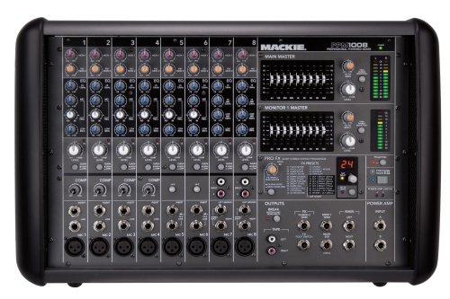 Mackie PPM1008 8-Channel 1600-Watt, Ultra-light