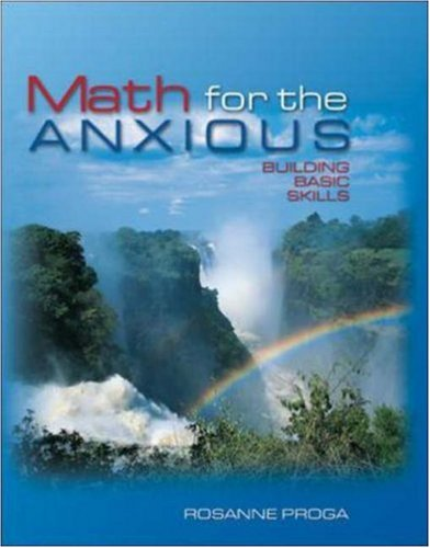 Math for the Anxious : Building Basic Skills