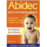Abidec Multi Vitamin Supplement for Babies and Children Drops - 25 ml