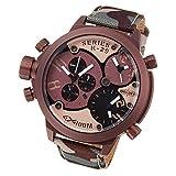 [ウェルダー]WELDER 腕時計 クロノグラフ 3タイムゾーン デイトカレンダー K29-8005 メンズ 【並行輸入品】