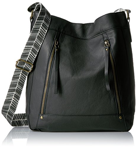 t-shirt-jeans-washed-cross-body-with-printed-strap-black