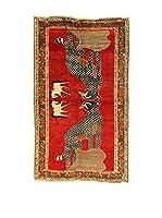 Kilim Carpets by Jalal Alfombra Gashgai (Rojo/Multicolor)