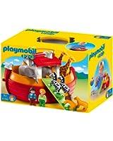 Playmobil 1.2.3 - 6765 - Arche de Noé transportable(1 an et demi +)