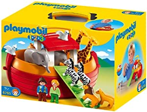 Playmobil 1.2.3 - 6765 - Arche de Noé transportable