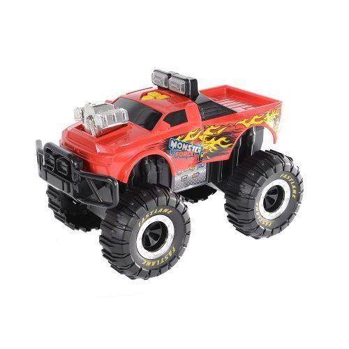 Fast Lane Monster Force Truck - Fire Red Lightning by Toys R Us
