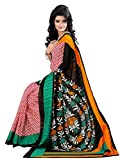 First loot Black & Yellow color Bhagalpuri Silk Saree