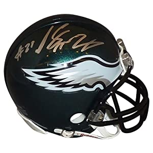 Lesean Mccoy Signed Autograph Philadelphia Eagles Mini Helmet Authentic Certified Coa by all-star sports