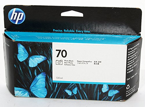 New-INK, HP 70 PHOTO BLACK 130 ML INK - C9449A