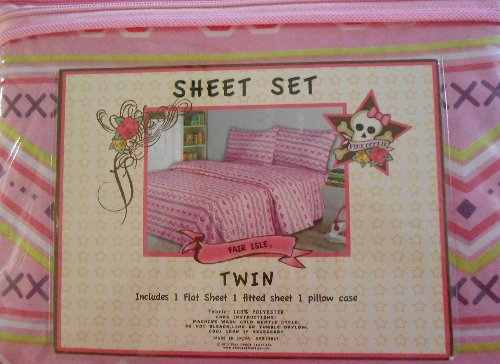 Teen Girl Bedding 3152 back