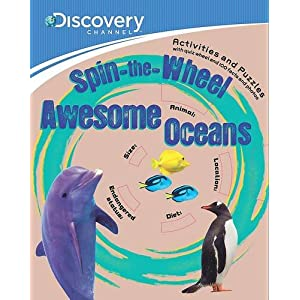 Discovery: Spin-The-Wheel Awesome Oceans (Discovery Brown Paper & Wheel)