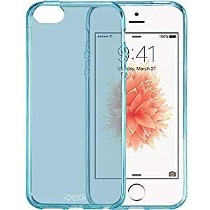 iPhone SE Case, ACME.BOX [Ultra Slim] Anti-Shock TPU Gel Rubber Thin Flexible Soft Bumper Silicone Protective Case Cover for Apple iPhone SE - Mint