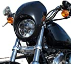Sportster Fairing Harley davidson DYNA head light mask To fit 1973-UP Harley Sportster Dyna FX/XL with 39mm narrow Glide forks FX XL front cowl fork mount custom motorcycle XL abs bobber chopper chopped cafe racer black 883 1200 120 xl883 xl1200 custom hugger 883c 883r 888s c r s 1200c 1200r 1200d sport custom candy solid DLX fxr fxdwg wide glide low super glide rider fxrs nightster roadster fxdxt