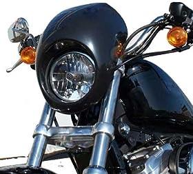 Sportster Fairing Harley davidson DYNA head light mask To fit 1973-UP