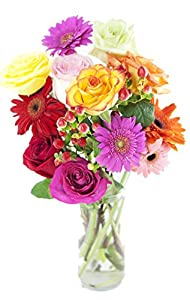 Blooming Hope Bouquet - With Vase
