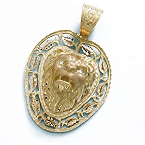 LIOR - Pendant 18ct Yellow Gold Lion