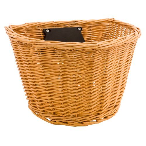 Wicker Handlebar Basket