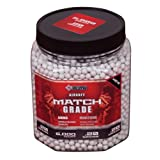Crosman AirSoft 5,000 ct. Bottle White Heavy AirSoft BBs (.20 grams)