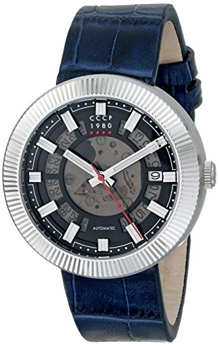 CCCP Men's CP-7025-01 Monino Analog Display Japanese Automatic Blue Watch