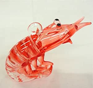 Amazon.com: Glass Shrimp Christmas Ornament: Home & Kitchen