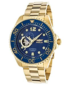 Invicta Men's 15393 Pro Diver Analog Display Japanese Automatic Gold Watch