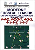 Moderne Fußballtaktik: Offensive Spielorganisation der Systeme 4-4-2, 4-2-3-1, 4-3-3, 4-3-1-2, 3-4-3