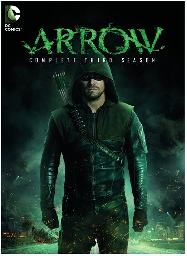 DVD : Arrow: The Complete Third Season (DC) (Boxed Set, , Slipsleeve Packaging, 5 Disc)