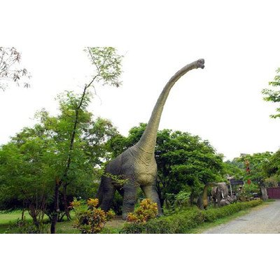 高さ18m超!ブラキオサウルス超巨大造形物(恐竜等身大フィギュア)写真1