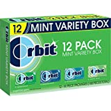 Orbit Sugarfree Gum, Mint Variety Box (12 Count)