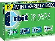 Orbit Sugarfree Gum, Mint Variety Box…