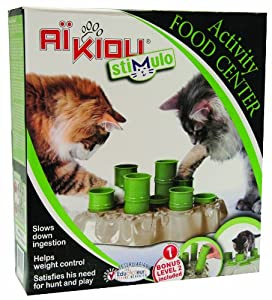 Stimulo Cat Feeding Station and Activity Center