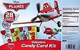 Disney Pixar Planes Valentine Candy Card Kit