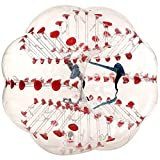 Viment Dia 5' (1.5m) Inflatable Bumper Bubble Balls Bubble Soccer Ball (Red Point)
