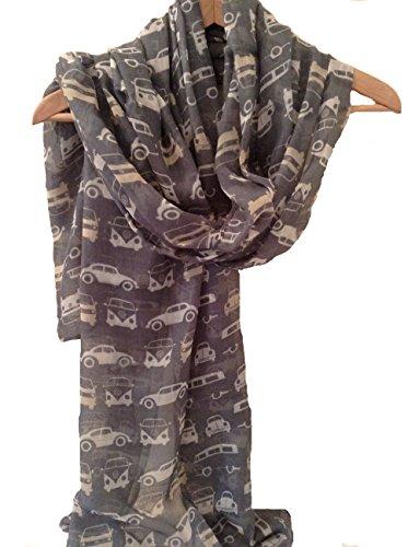 ladies-women-vw-camper-van-beetle-motor-car-new-grey-scarf-wrap-shawl-pashmina