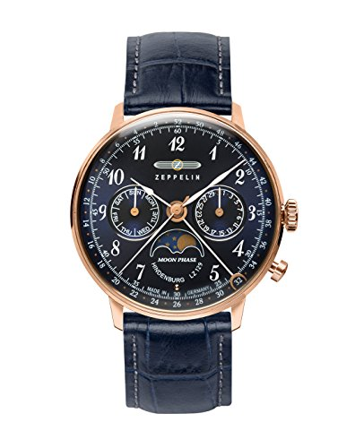 Zeppelin Ladies Watch with Moonphase 7039-3